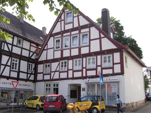 中文繁体 工程实例 德国工程实例 > 传统欧式木屋   位於 korbach 的