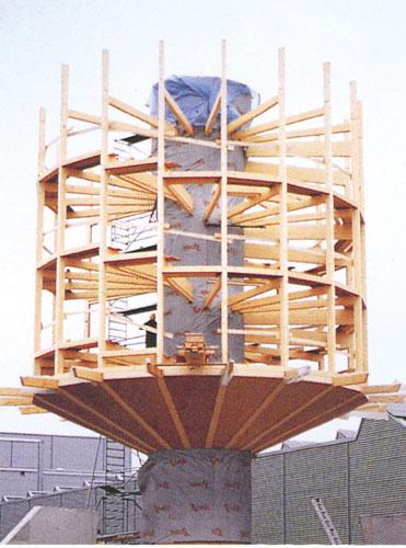 Building Rotated solar house HELIOTROP